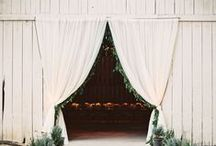 R U S T I C / W E D D I N G S / Rustic & Barn Wedding inspiration for brides, brides-to-be, and grooms.