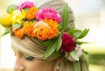 BRIGHT WEDDINGS / Bright Colour Wedding Palette Inspiration for brides, brides-to-be, and grooms.