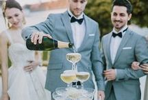B L A C K T I E / W E D D I N G S / Classic, Polished, & Black Tie Wedding inspiration for brides, brides-to-be, and grooms.