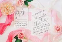 THE INVITATIONS / Wedding invites, invitations, and save the date inspiration for brides, brides-to-be, and grooms.