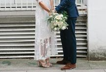 E L O P E M E N T / W E D D I N G S / Casual I Do's, Simple Nuptials, and Elopement Style Wedding inspiration for brides, brides-to-be, and grooms.