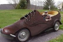 Cars: Art & Funky Transportation /  Creative cars & Bicycles / by Kim Goodwin