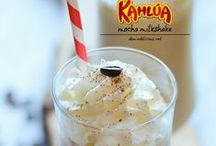 Füd: Kahlúa / We're not drinkers by any stretch of the imagination, but a few times a year, I will make and enjoy a nice drink made with Kahlúa.