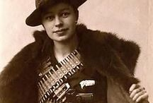 Women at WAR... Resistance, Partisans, Rescuers / Home Guards, Militia-women, Auxiliaries, Righteous among the Nations, Protectors, Undercover, Intelligence... Revolutionaries, Warriors, Pirates, Irregulars and Guerrillas of many stripes... / by Aunt Ruth