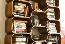 Books and Bookshelves / Display your books in style.