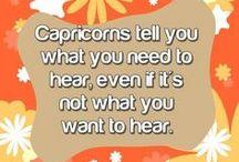 Capricorn / by ♔ Norma Pederson ♔
