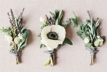T H E / B O U T O N N I E R E S / Boutonniere & corsage wedding floral inspiration for brides, brides-to-be, and grooms.