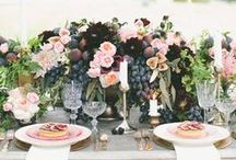 B E R R Y / W E D D I N G S / Berry-Toned Wedding Palette Inspiration for brides, brides-to-be, and grooms.