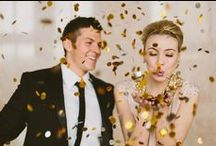 N E W Y E A R S E V E / W E D D I N G / New Year's Eve Wedding inspiration for brides, brides-to-be, and grooms.