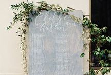 T H E / S E A T I N G / C H A R T / Wedding seating chart & escort card inspiration for brides, brides-to-be, and grooms.