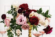 M A R S A L A / W E D D I N G S / Marsala Wedding Palette Inspiration for brides, brides-to-be, and grooms.