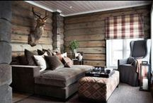 - Lodge and Cabin - / by Fabrics & Furnishings