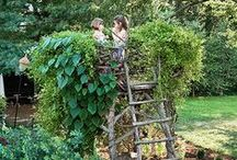 Natural Play Spaces / Cool outdoor play spaces for kids to encourage imagination and unstructured play.