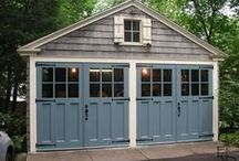 Garage / Organization ideas, curb appeal enhancing updates and creative design ideas for your garage.