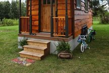 Tiny Homes & Sheds / Cottages, tiny houses, guest houses, backyard retreats, sheds, studios and other little buildings.