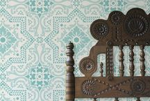 Wallpaper / There's more ways to decorate your walls than just paint. Wallpaper is a fun way to update a room.