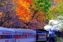 trenes / by Ruth Garcia Puga