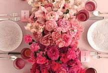 Ombre Weddings // / Ombre Wedding Inspiration & Ideas for all you graduated hue loving brides :) XxX