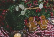 Christmas Wedding Ideas // / Could Christmas day be a more awesome day? Say yes to Christmas Weddings!