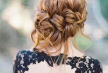 Beautiful Bridal Hair // / Want your hair to look uh-may-zing on your big day? Follow this board and it will.. it will :)