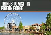 Things to visit in Pigeon Forge / Pigeon Forge is a beautiful city in east Tennessee. Full of attractions, restaurants and shops! A must-visit!