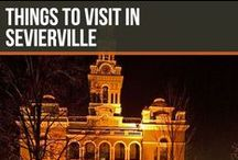 Things to visit in Sevierville / Sevierville is a beautiful city located next to Pigeon Forge, Gatlinburg and the Great Smoky Mountains. It is also Dolly Parton's home town!