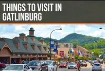 Things to visit in Gatlinburg / Follow our board to see and learn new things about Gatlinburg, Tennessee.