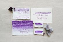 Wedding Stationery // / Be inspired by the oodles and oodles of pretty wedding stationery.
