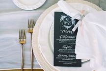Wedding Table Settings // / Make your wedding tables look this awesome.