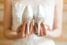 Wedding Shoe Love // / Shoe Porn! Pure and simple.