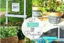 Backyard|Outdoor Projects Ideas / by Jessica Miller