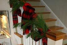 Christmas Mantels | Staircases / by Jessica Miller