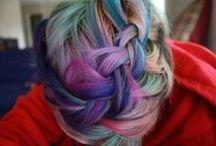 Colorful Hair  / by Samantha Erickson