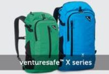 Venturesafe Living / For the adventurous travelers out there! Venturesafe GII series Venturesafe X series / by Pacsafe