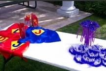 Princess/superhero Party / My Katelyn's 5th and Jakeys 2nd!  / by Christina W.