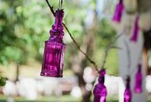 Purple Wedding // / Purple. It's alll about the purple!