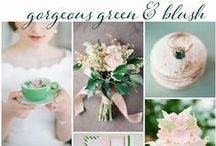 Green Wedding // / This board will make you green with envy!