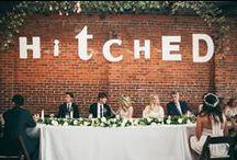 Wedding Signage //