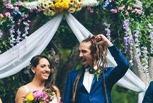 Floral Wedding Ideas // / Say it with flowers...