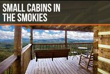 Small Cabins in the Smokies / You'll fall in love with our beautiful 1 bedroom cabins and honeymoon cabins in Gatlinburg and Pigeon Forge!