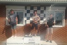 Go-Karting Fun - Summer 2014 / Team day out at Thruxton - felt like professional karters... if only for the day!