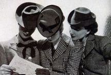 Suits for women / Contemporary and vintage suits - skirt suits, 'Le Smoking', tuxedos and more