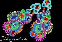 Soutache jewellery by KLEO