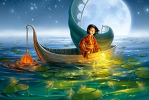 Children's Illustrations / A selection of stunning children's art I found on Pinterest, when I had nothing better to do but dream of beautiful realms.