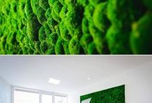 Moss walls by Freund GmbH / Get in touch for high quality moss walls inside:  office@freundgmbh.com.  We produce customized moss walls for outstanding interior design of your project. The decorative natural material is handmade in Germany, sound absorbing, maintenance-free and evergreen. Learn more on www.freundgmbh.com/green