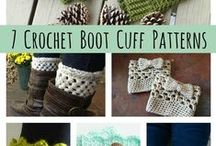 Crochet / Crochet patterns, tutorials and ideas. Boot cuffs, headbands, bracelets, accessories, etc.