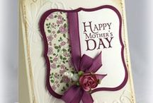 Feminine & Mother's Day / Cards, projects and ideas for Mother's Day and/or all things feminine.