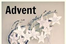 Advent / While I am not a Catholic, I love their tradition of setting aside a time (Advent) to focus on the real meaning of Christmas.