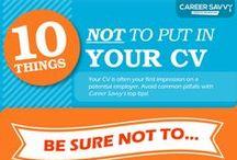Career Advice Infographics