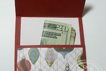 Gift Card Holders / Handmade gift card holders for any occasion!